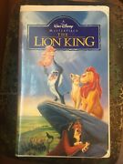 The Lion King Vhs, 1995 Walt Disney Masterpiece. Great Christmas Gift