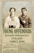 Young Offenders Juvenile Delinquency 1700-2000 By Pamela Horn Hardback Book The