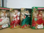 Vintage Collector Edition Holiday Holly Barbie Dolls