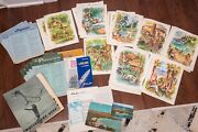 Matson Lines Cruise Ship Menus And Papers Ss Lurline Monterey 1960s Vintage Hawaii
