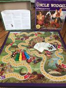 Uncle Wiggly Board Game Early Reading Complete Game No Book Plastic Pawns 2000