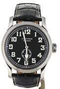 Longines Heritage Military 44mm Stainless Steel L2.811.4.53.0
