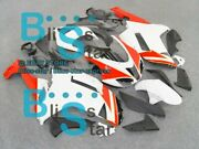 White Red Injection Fairing Plastic Fit Kawasaki Zx-6r 07-08 013 A3