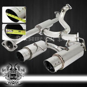 For 2013-2016 Scion Frs Brz Stainless T304 Catback Exhaust System 4 Muffler Tip
