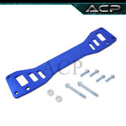 For 02-06 Rsx Dc5 / 05 Civic Si Rear Chassis Tie Subframe Brace Bar Support Blue