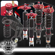 Full Height Adjustable Coil Over Damping System Assembly Set For 03-07 350z G35
