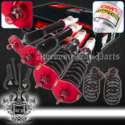 For 08-13 370z Z34 Full Height Adjustable Coil Over Damping System Assembly Set