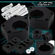 2 Front Leveling Lift Kit W/ Diff Drop Black For 84-95 Ifs 4runner 4wd 4x4