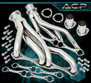 For Chevy Small Block 265-400 V8 Engine Stainless Racing Exhaust Header Manifold