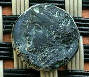 Ephesos Ionia 305-288 Bc Ae10 Bee And Female Ancient Greek Bronze Coin