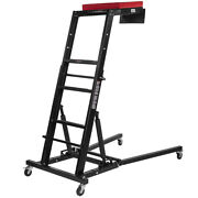 Engine Access Foldable Topside Creeper With Adjustable Height And Padded Deck