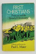 First Christians Pentecost And The Spread Of Christianity Signed By Author Paul