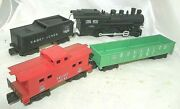 American Flyer No. C20800 Game Train With L2001 Locomotive Gondola And Caboose