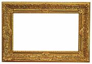 American 20th Century Gilded Regence Picture Frame 23x39 Sku 1514
