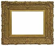 French 19th Century Louix Xv Gesso Picture Frame 19x25 Sku 999