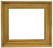 Italian 19th Century Carved Gilded Picture Frame 32x37 Sku 1883