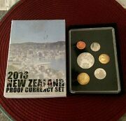 🔥 2013 🔥 New Zealand Proof Set Short-tailed Bat 5 Coin 1500 Mintage 🔥