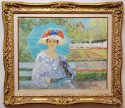 Afternoon In Summer Paris An Oil Painting Signed By George Shawe