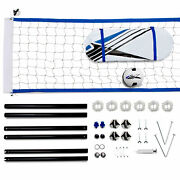 Training Equipment Complete Volleyball Game Set Kit With Accessories Open Box