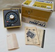 Intermatic Time-all Lamp And Appliance Timer Model E-911-12 Vintage Box And Receipt