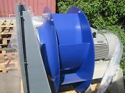 Very Large Industrial Fan 38000m3/hr 7.5kw 400v 3 Phase Fume Dust Biomass Ahu