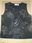 Lot Of Chicos Travelers Tank Tops All Size 3 16-18 Womens