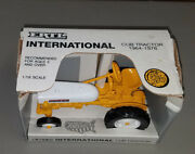 Toy Ertl 653 International Cub Tractor Yellow And White In Box