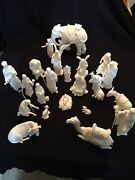 """Lenox Collection """" The Nativity"""" Manger"""