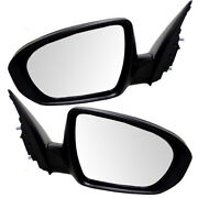 Set Of Side View Power Smooth Mirrors Heated Signal For 11 12 13 14 Kia Optima