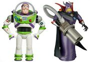 New Toy Story 12.5 Buzz Lightyear And 14 Emperor Zurg Talking Action Figures