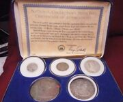 Spanish Silver Reale Coin Set With Box And Coa Includes 1/21248 Reale Coins