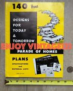 Mid Century Modern Magazine 1960s Parade Of Homes 140 Home Design Architecture