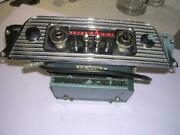 Vintage Allstate 12 Volt Radio And Face Plate Sears Roebuck Canada To Restore