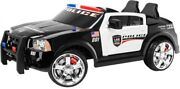 Kids Police Car Ride On Toy Kid Trax Dodge Pursuit 12v Electric Battery Powered
