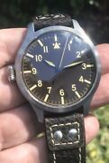 Azimuth Militare 1 Bombardier Vi Limited Edition Left Hand 47mm Swiss Mechanical