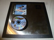 Rare Sony Playstation Ps1 Platinum Award Plaque Cool Boarders 3 Game 989 Studios