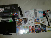 Boxed Import Pal Wii Mario Kart System Game Lot Set Tv Little Kings Story Galaxy