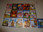 Kids Dvd Lot Movie Land Before Time Easter Max And Ruby Ice Age Dora Shrek Nemo