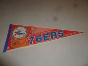 Philadelphia 76ers Nba Finals Eastern Conference Pennant Basketball Wincraft 90s