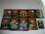 Boxed Odyssey 2 Game Lot Thunderball Alien Invaders Plus Alpine Skiing Sub Chase