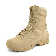 Menand039s Military Tactical Work Boots Hiking Motorcycle Combat Bootie New