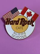 Hard Rock Cafe 1990s Toronto Sky Dome Unification Pin All Is One