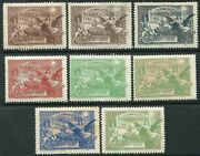 1897 Norwich Union Fire Office Centenary. A Mounted Mint Set Of 8 In 8 Colours
