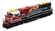 Athearn 65250 Sd60e W/dcc And Sound Norfolk Southern 9-1-1 Ho Scale Mib
