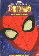 The Spectacular Spiderman Complete Series New Sealed 8 Dvd Seasons 1 2 2008-2009