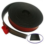 Partsman Self-adhesive Rubber Moulding 2 Wide - Stripping - Edging - Trim 20ft