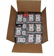 Case 144 Black And Red Decks Original 2018 Wsop Used Copag Plastic Playing Cards