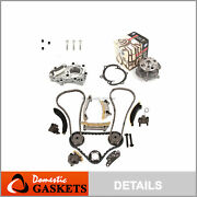 Timing Chain For Oil Pump Gmb Water Pump Fit 04-06 Cadillac Suzuki Buick 3.6
