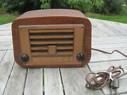 Charles And Ray Eames Design For Emerson Radio Model 578a Wood Case