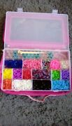 The Original Rainbow Loom Kit With 100's Of Rubberbands And Looms And Hook